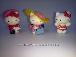 Коллекционные игрушки, фигурки Китти , Hello Kitty Bullyland, оригинал.