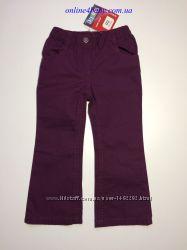 Лёгкие детские брюки Lupilu на девочку 1, 5-2 года, рост 92