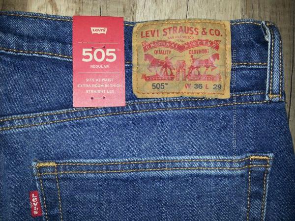 Джинси чоловічі Levis , Wrangler, нові  США  розмір 3629