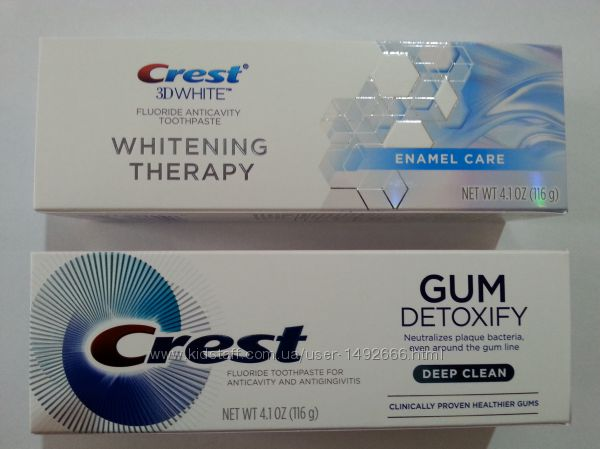 зубна  паста Crest Whitening Therapy Enamel Care
