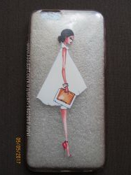Чехол- накладка прозрачный Lady для iPhone 6 Plus, 6s Plus