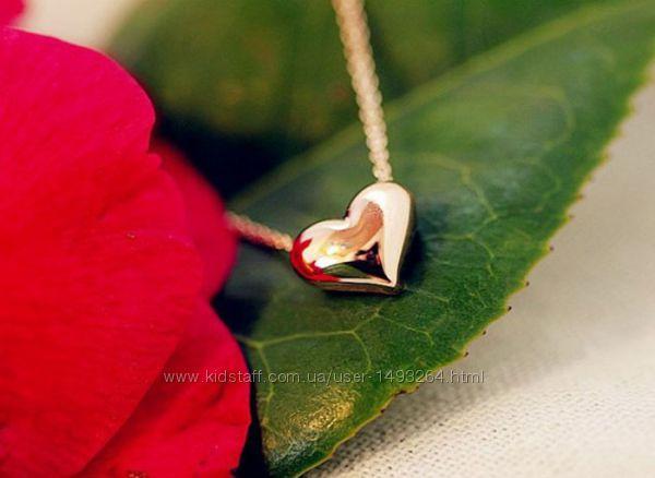Ожерелья с подвеской сердце