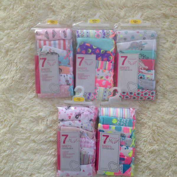 Трусики для девочек, 4-5  и 5-6 лет - р 110-116см, Primark