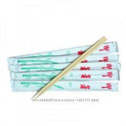 Палочки бамбуковые для суши, 100шт