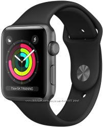Apple Watch S3 38mm MQKV2 black Новый, Оригинальный, Гарантия, Магазин