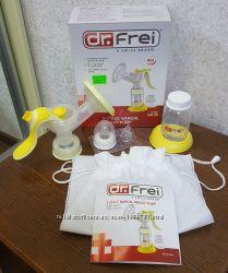 Молокоотсос Dr. Frei 2х фазный ручной с подарком