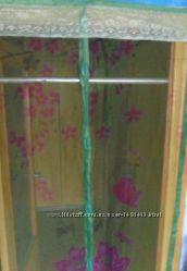 Надежная защита от комаров мух антимоскитная штора сетка сітка