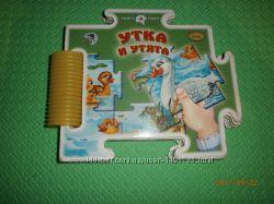 Книга пазл для малышей