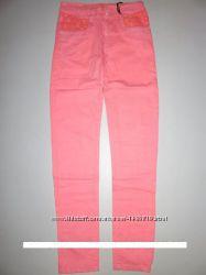 Яркие летние джинсы для девочек 158-164