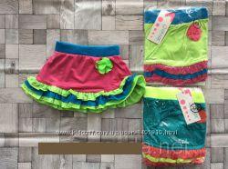 Яркая юбка для девочек 110