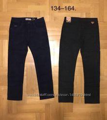 Коттоновые брюки классические 134-58