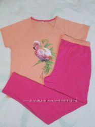 Нежная пижама домашний костюм, футболка штаны, Германия Lidl