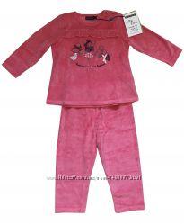 Велюровый костюм пижама для девочки 92см 2 года Sergent Major Франция d79fcecc380d5