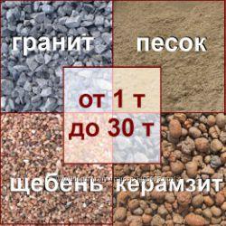 Сыпучие строительные материалы г. Мариуполь, шлак, песок, керамзит, граншла