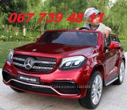 Детский электромобиль Mercedes AMG GL 63 двухместный