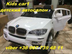 BMW X6 детский электромобиль с 2. 4G bluetooth  EVA колеса,