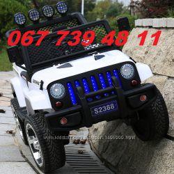 Електромобіль Jeep T008TT повний привід в наявності
