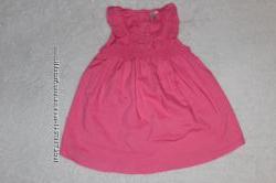 Милое платье туничка для девочки 6-9мес.