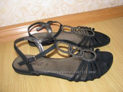 your feet look gorgeous босоножки 39 р по ст 25. 5 екозамш как новие