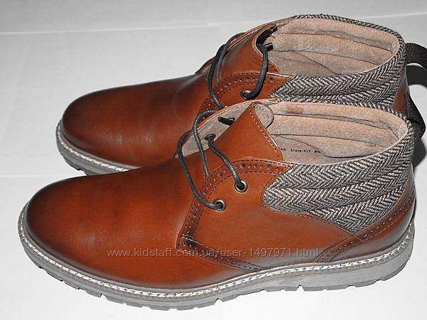 Ботинки новые кожаные Stacy Adams
