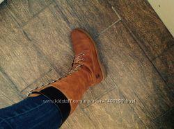 Крутые кожаные сапоги Timberland оригинал Waterproof 8, 5 39 размер с США
