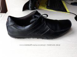Мокасины кожаные Bose London  45 размер