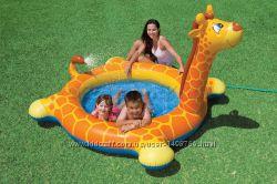 Детский надувной бассейн Жираф Intex 57434