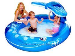 Детский надувной бассейн Intex 57435  Весёлый кит