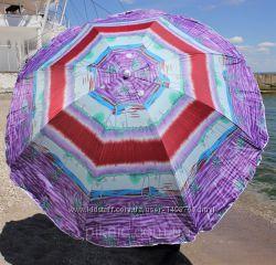 Пляжный зонт  диаметр 2м. с системой ромашка