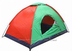 Палатка туристическая 3-4-х местная HYZP-03.