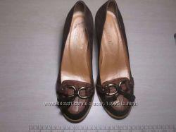 Туфли женские замшевые QIGE