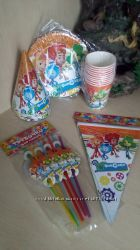 Посуда для праздника Фиксики