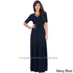 Платье в пол новое фирмы Koh Koh с бирками размер 1 амер. , наш 42-44