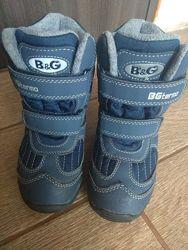 Зимние термо ботинки сапожки B&G в идеале
