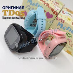 Новинка TD05 Полностью водонепроницаемые Детские GPS часы с камерой