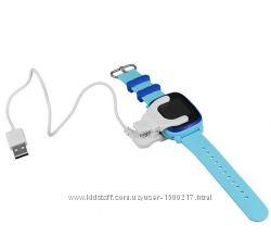 Кабель USB для смарт-часов Smart Baby Watch DF25, Q300, Q300s, Q100 aqua