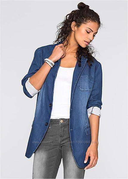 Шикарный бллейзер, джинсовый пиджак, жакет, s. oliver