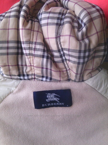 Стёганая куртка Burberry деми сезон барбери девочке
