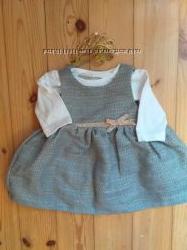 Комплект платье и бодик на рост 62 см