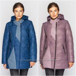 Демисезонная куртка шанель 5 цветов. размеры 50-62
