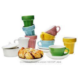 IKEA Duktig чайний сервіз, дитяча посудка, детская посуда