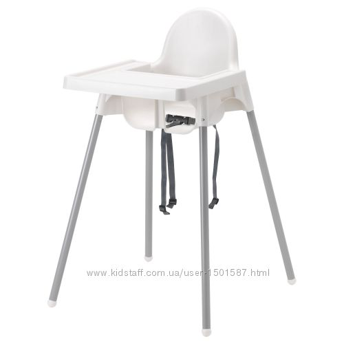 Стільчик для годування, стул для кормления ANTILOP IKEA