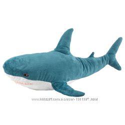 М&acuteяка іграшка акула, мягкая игрушка ІКЕА BL&AringHAJ