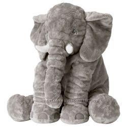 М&acuteяка іграшка слон ІКЕА, мягкая игрушка J&AumlTTESTOR