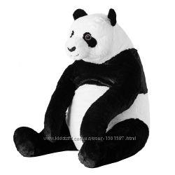 М&acuteяка іграшка панда ІКЕА, мягкая игрушка DJUNGELSKOG