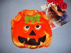 костюм наряд тыквы на рост 86-92 см 1-2 года маскарадный тыква хеллоуин