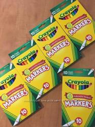 Маркеры фломастеры классические Crayola Fine Tip Classic colors