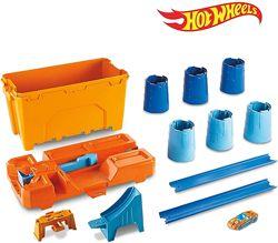 Трек Хот вилс Строительная коробка Hot Wheels Track Builder barrel box