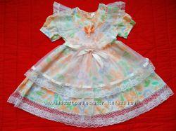 Нарядное летнее платье р. 104-110