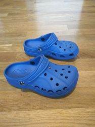 Синие кроксы крокси тапочки шльопки аквашузи Crocs